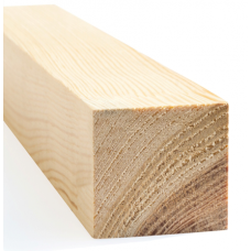 Wooden pine planed scantlings 70mm x 70mm