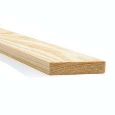 Planed Pine Wooden Board 20mm x 100mm